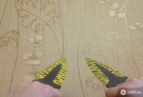 Деревянный макет тычковых ножей. Фото 2.