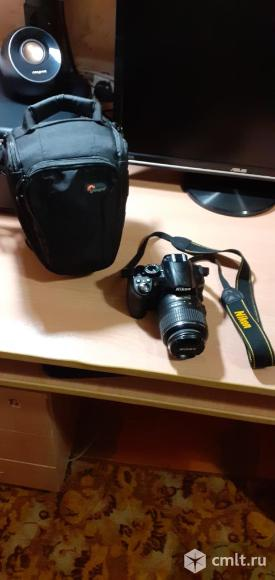 Фотоаппарат цифровой Nikon D3100 18-55 VR Kit. Фото 2.