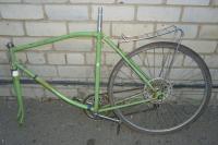 Велосипед взрослый Спутник ХВЗ трех скоростной