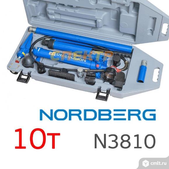 Гидравлический набор 10т Nordberg N3810 в кейс. Фото 1.