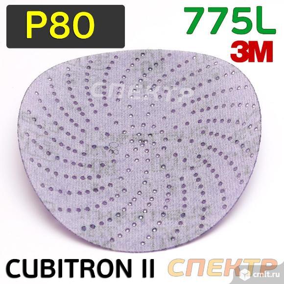 Круг шлифовальный ф150 3M 775L ( Р80) Cubitron™ II. Фото 2.