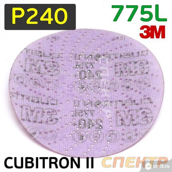Круг шлифовальный ф150 3M 775L (Р240) Cubitron™ II. Фото 2.