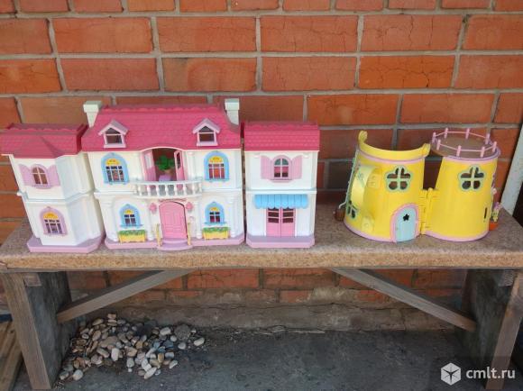 Продам детский кукольный домик-2шт. Фото 1.