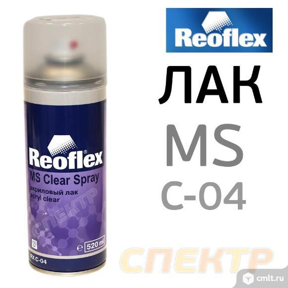 Лак-спрей глянцевый REOFLEX акриловый (520мл). Фото 1.