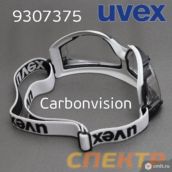 Очки-маска UVEX Carbonvision с покрытием супер ант. Фото 4.