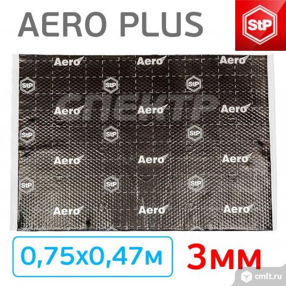 Шумоизоляция STP Aero Plus (0,75х0,47м) толщина 3м. Фото 3.
