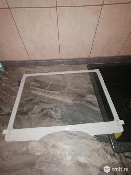 Полка стеклянная для холодильника Samsung. Фото 1.