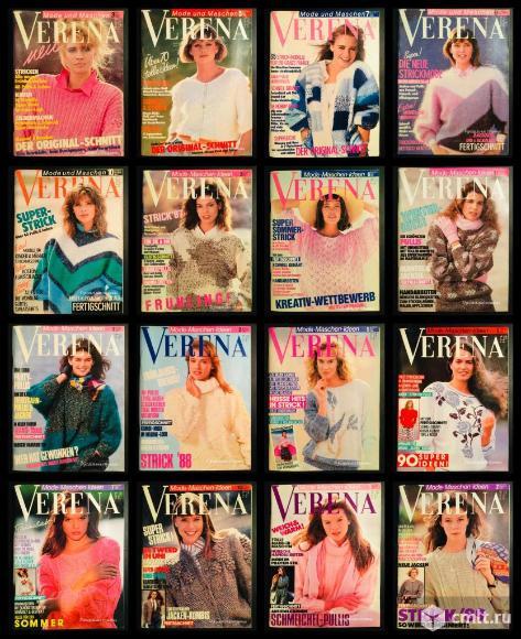 Журналы Verena Верена 80-х, 90-х, 2000-х годов.. Фото 1.