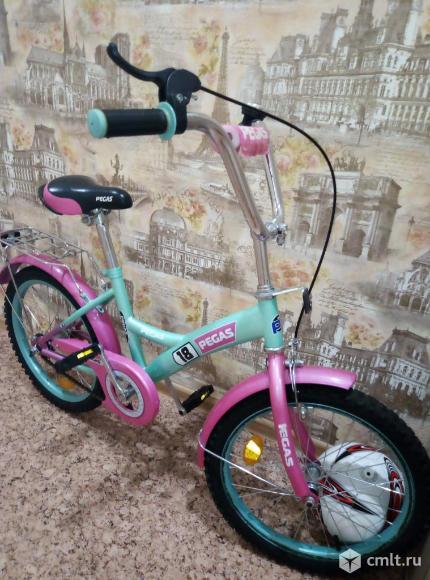 Детский велосипед для девочки. Фото 2.