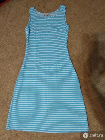 Платье летнее р.40. Фото 1.