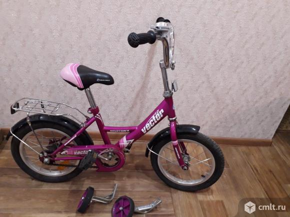 Детский велосипед Novatrack Vector. Фото 1.