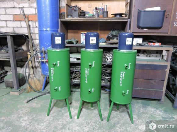 Влагоотделитель (осушитель) для компрессора. Фото 1.