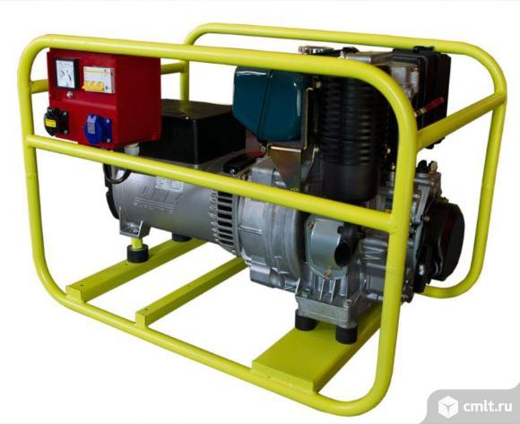 Генератор дизельный АД-4. Фото 1.