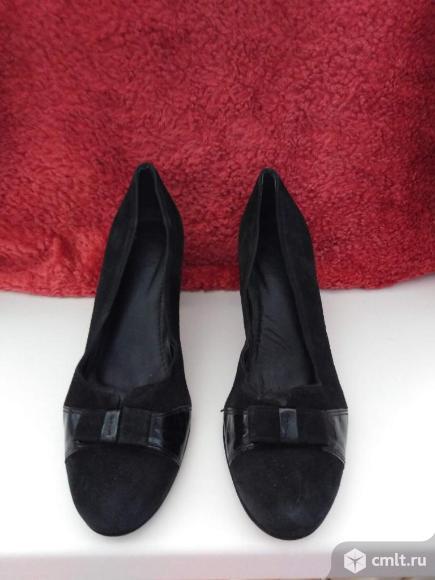 Туфли ( нат. замша ). Фото 1.