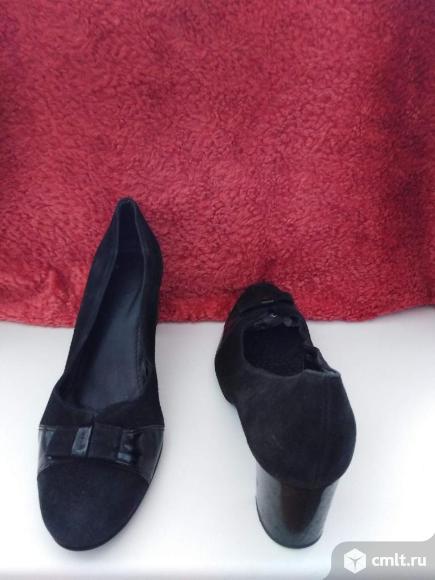 Туфли ( нат. замша ). Фото 5.