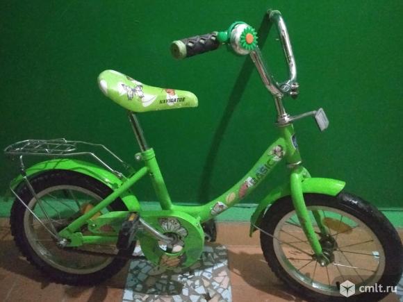 Детский велосипед. Фото 5.