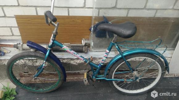 Велосипед Школьник. Фото 1.
