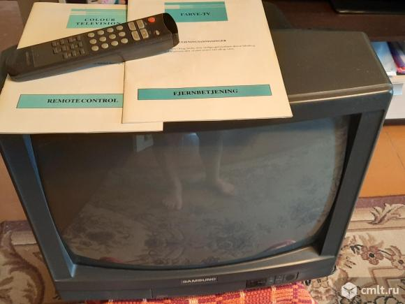 """Телевизор кинескопный цв. Samsung Телевизор """"Samsung"""" CK-5051A (на разбор. Фото 1."""