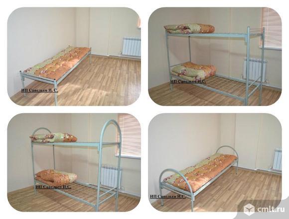 Кровати для строителей, общежитий. Фото 1.