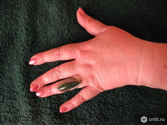 кольцо саянский нефрит