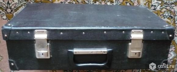 Чемодан, СССР, винтаж, б/у. Размеры: 51 x 31 x 15 см.. Фото 1.