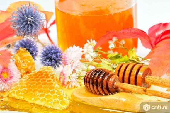 Мед натуральный (разнотравье), урожай 2020 года.. Фото 1.