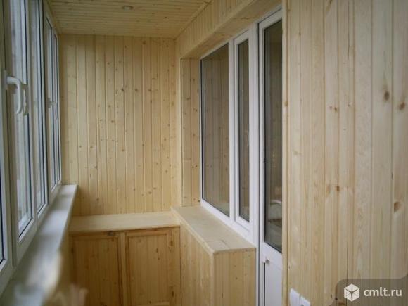 лоджии, балконы, остекление