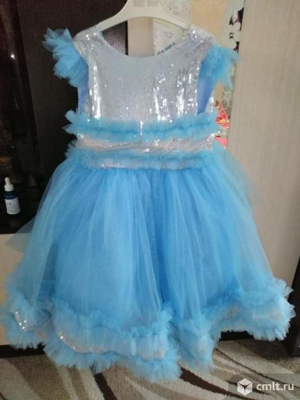 Красивое платьице. Фото 1.