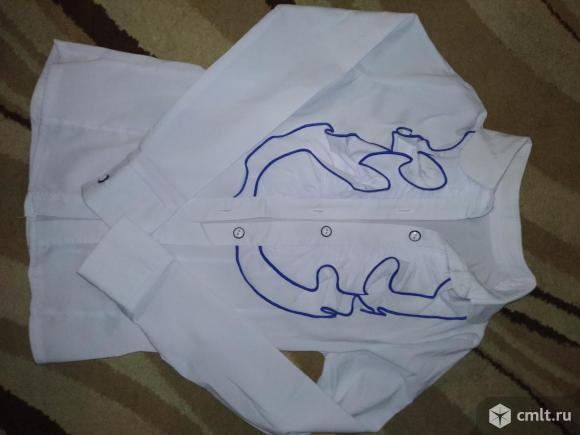 Блузка на первоклашку. Фото 1.