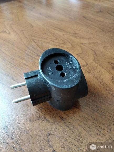 Тройник электрический. Фото 1.