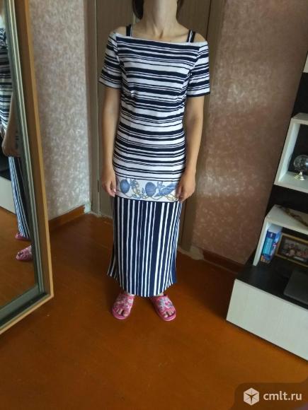 Платье в пол (р.44-46). Фото 2.