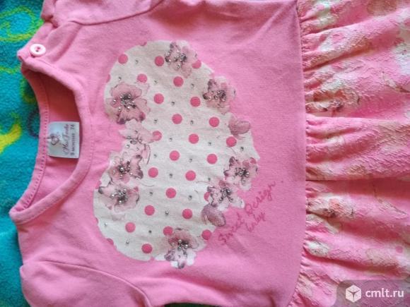 Платье для малышки 9 мес. Фото 3.