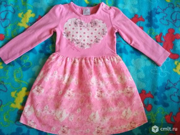 Платье для малышки 9 мес. Фото 1.
