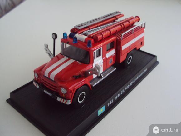 Автомобиль Зил 130-431410 Kazakhstan пожарная машина (1964). Фото 1.