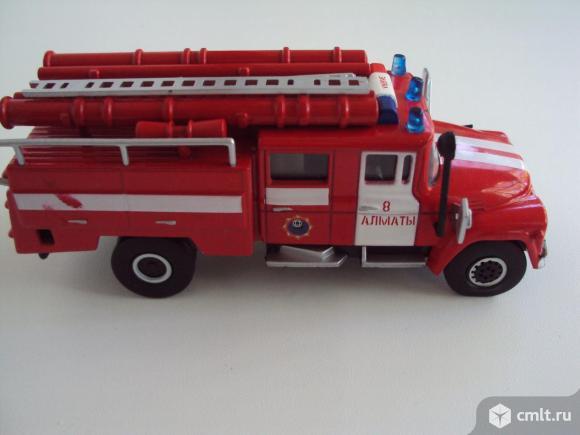 Автомобиль Зил 130-431410 Kazakhstan пожарная машина (1964). Фото 6.