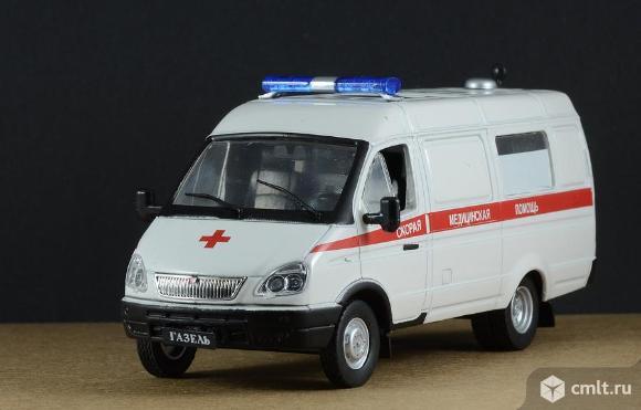"""Автомобиль на службе №11 Газ-32214 """"Газель"""" Скорая медицинская помощь. Фото 1."""