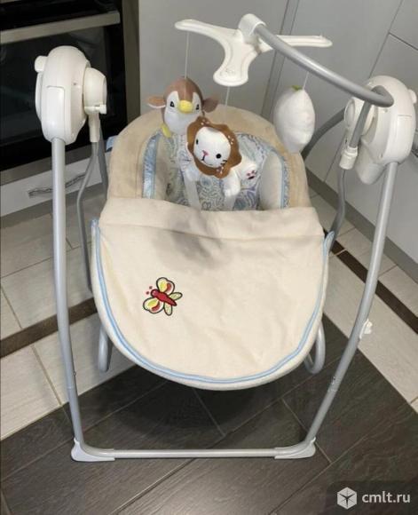 Электрокачели для новорожденных Nuovita Migliore. Фото 1.