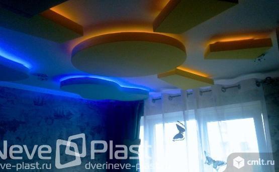 Натяжной потолок за рубль, при покупке 3 потолков. Фото 1.