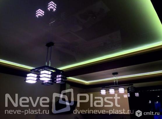 Натяжной потолок за рубль, при покупке 3 потолков. Фото 3.