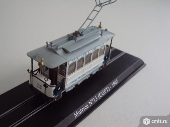 Трамвай Motrice №13 (1907). Фото 1.