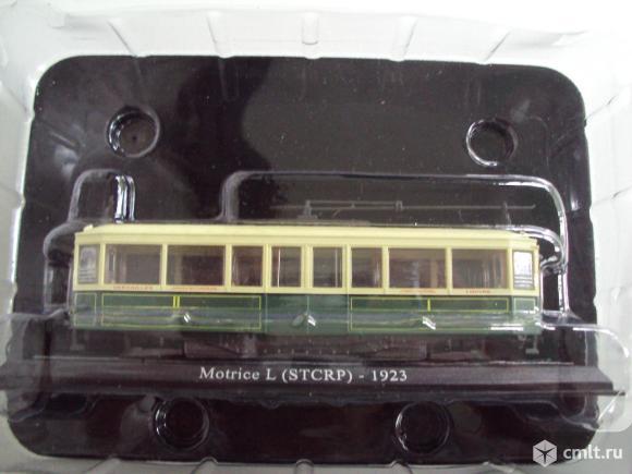 Трамвай Motrice (1923). Фото 7.