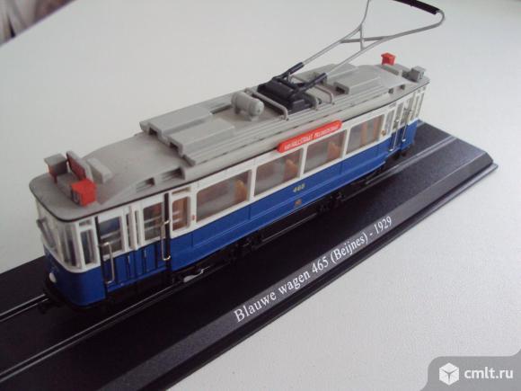 Трамвай Blauwe wagen 465 (Beijnes)-1929. Фото 1.