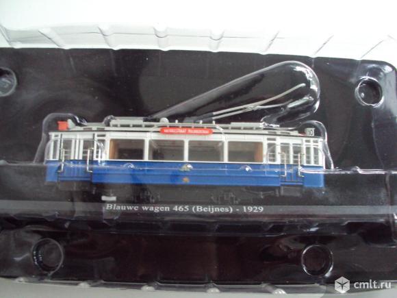 Трамвай Blauwe wagen 465 (Beijnes)-1929. Фото 7.