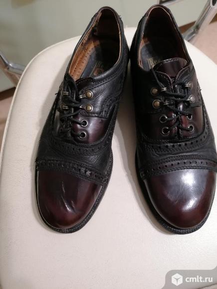 Туфли кожаные р.41. Фото 1.