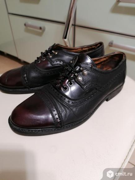 Туфли кожаные р.41. Фото 3.