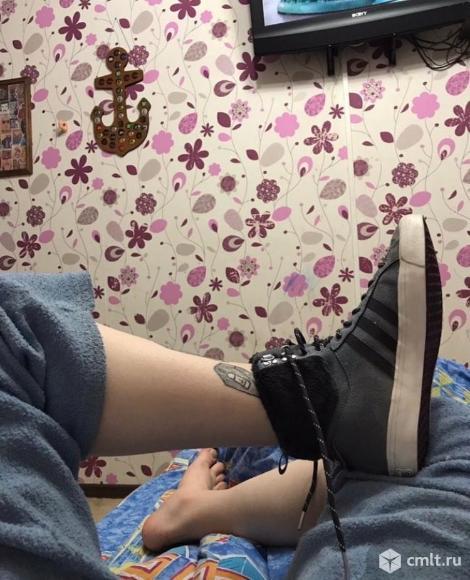 Утепленные кроссовки Adidas. Фото 1.