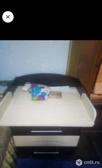 Комод с пеленальным столиком. Фото 1.