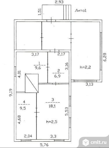 Продается: дом 44.1 м2 на участке 33.6 сот.. Фото 5.
