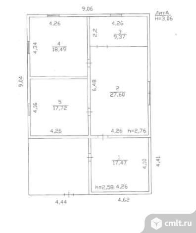 Продается: дом 90.7 м2 на участке 18 сот.. Фото 6.