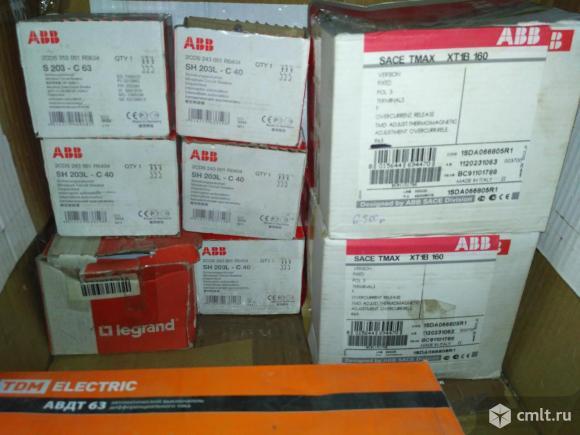 Продам Выключатель автоматический  Tmax XT1B 160 TMD In63А. Фото 1.
